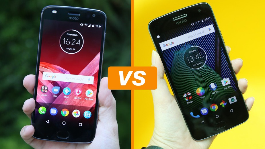 Moto G5 Plus Vs Moto G6 Play - TecNoob - YouTube