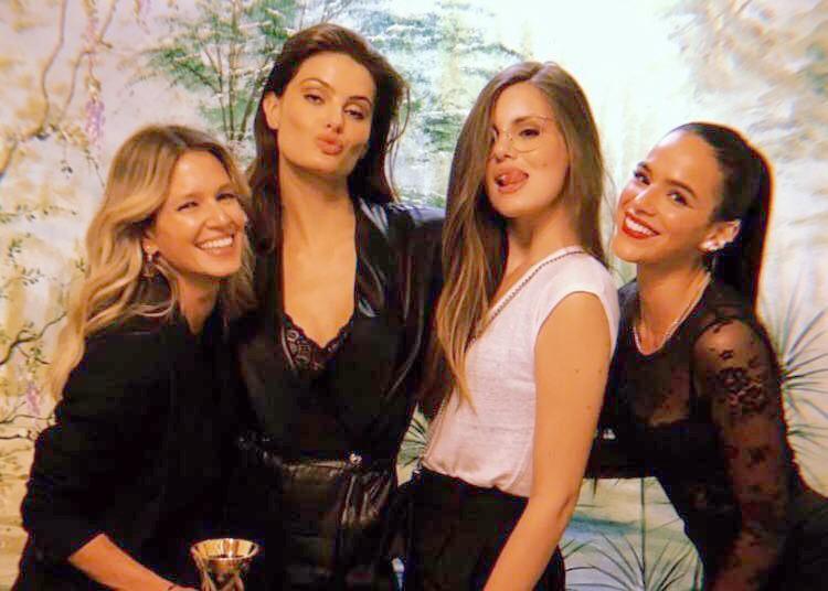 Bruna Marquezine, Helena Bordon, Camila Queiroz e Isabeli Fontana (Foto: Reprodução/Instagram)
