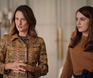Camille Cottin e Fanny Sidney na quarta temporada de 'Dix pour cent', no ar na Netflix | Christophe Brachet-FTV/Mon Voisin Productions/Mother Production