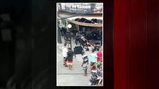 Ataque a tiros a bar em Queimados, RJ, deixa morto e feridos