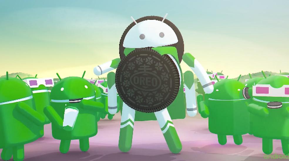 Android 8.0 Oreo tem foco em otimização da bateria do celular (Foto: Divulgação/Google)