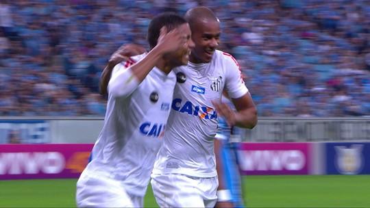 David Braz comemora ponto, mas diz que ele só vale se o Santos bater o Flamengo