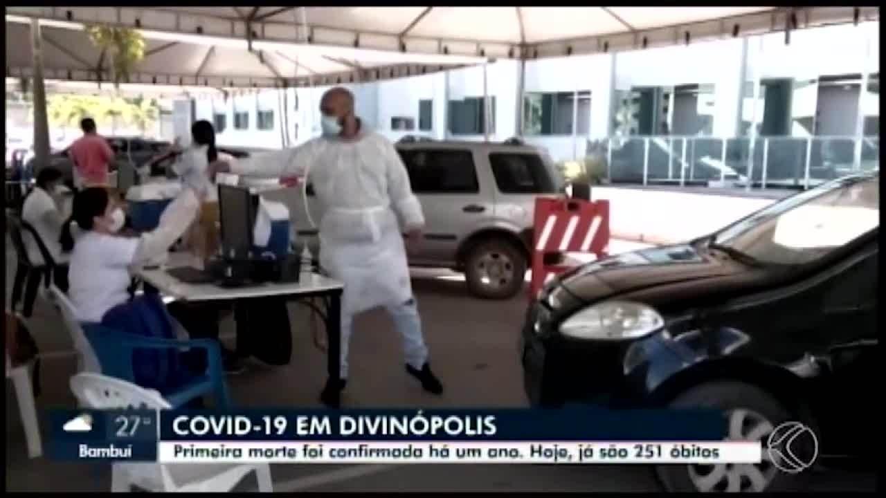 Aumenta o número de mortes em decorrência da Covid-19 em Divinópolis