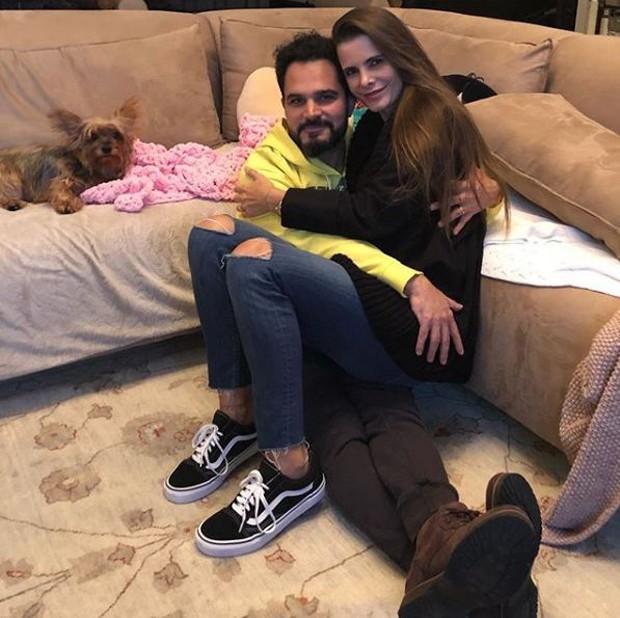 Luciano e Flávia Camargo (Foto: Reprodução/Instagram)
