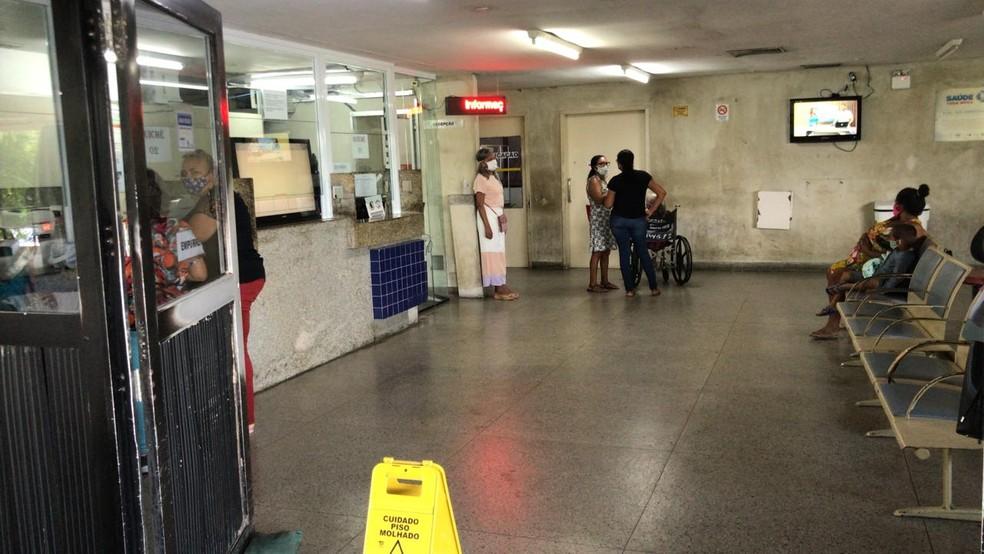 Idoso baleado em tentativa de assalto em Cidade Verde está em estado grave no Hospital Walfredo Gurgel — Foto: Geraldo Jerônimo/Inter TV Cabugi