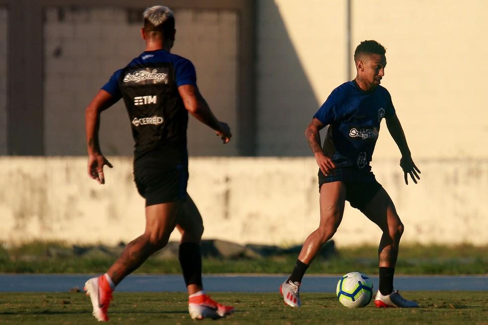 Biro Biro, Botafogo — Foto: Vitor Silva/Botafogo