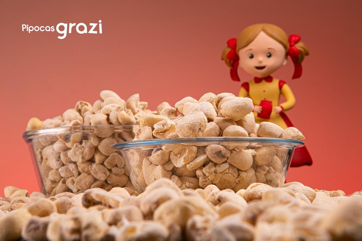 Com sabor de infância, a marca paranaense de pipocas conquista gerações!