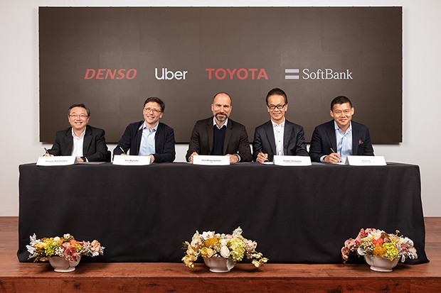 Autoridades das empresas se reúnem para assinar contratos e oficializar parcerias (Foto: Divulgação)