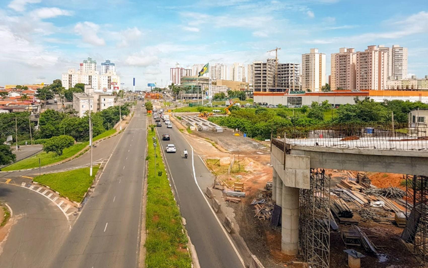 Obras do BRT em Campinas interditam novo trecho no Jardim Rossin e Nova Esperança  - Notícias - Plantão Diário