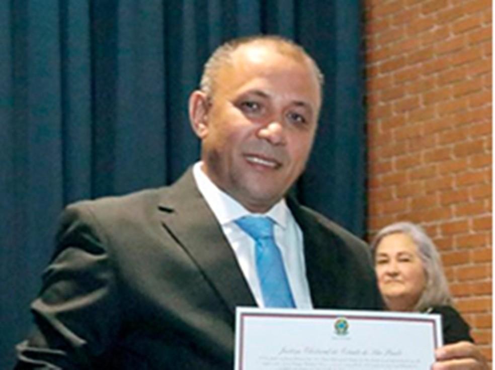 Vereador José Carlos de Souza Nascimento (PTB), de Suzano, foi preso em operação do MP (Foto: Reprodução/Site da Câmara de Suzano)