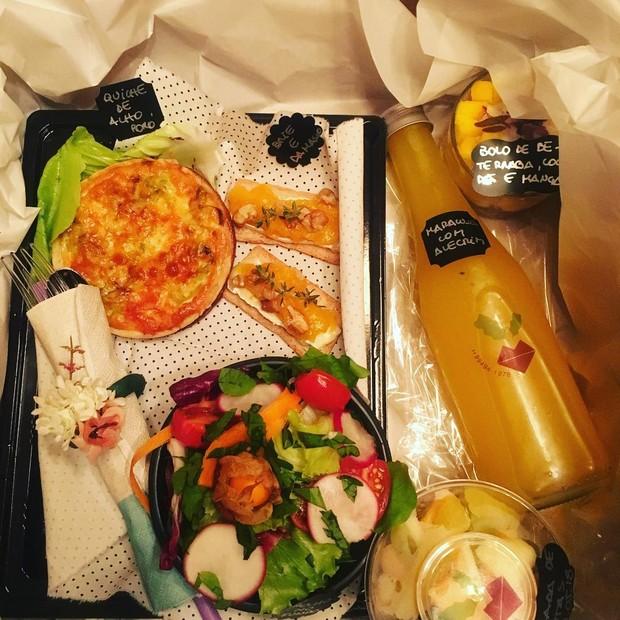 Encomende a comida fresca do Mesa Viva (Foto: Reprodução/Instagram)