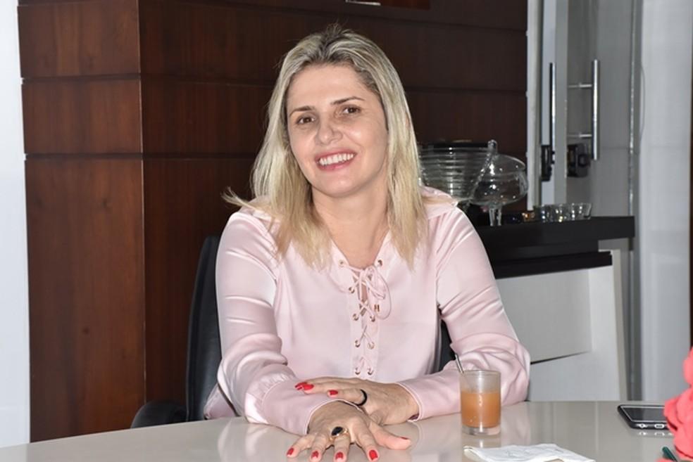 Marilza do MDB foi eleita em Nova Brasilândia — Foto: Divulgação