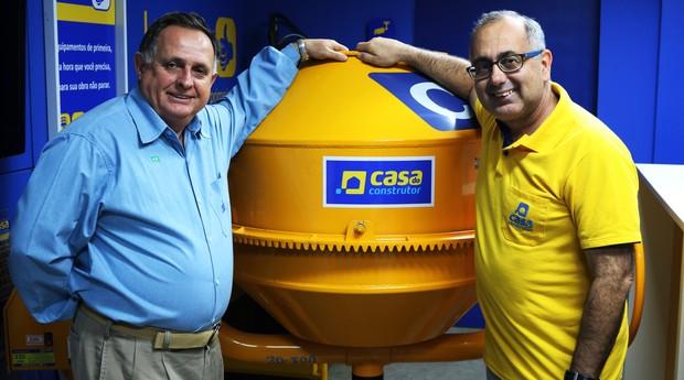 Fundadores da Casa do Construtor (Foto: Divulgação)