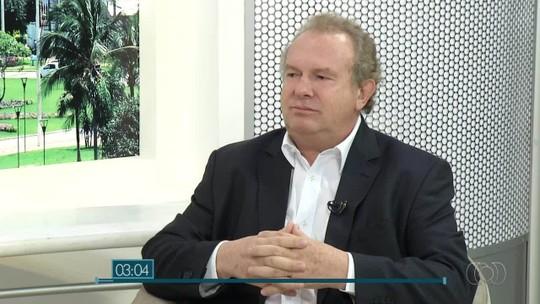 Mauro Carlesse, candidato ao governo do Tocantins, é entrevistado no JA1