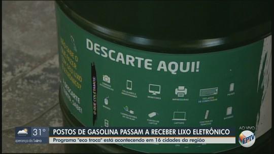 Postos de combustíveis de Rio Claro, São João e outras 14 cidades coletam lixo eletrônico; veja locais