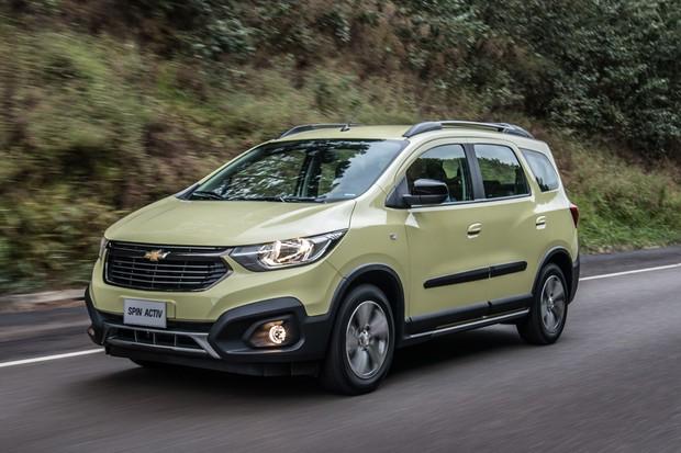 Chevrolet Spin 2019 (Foto: Divulgação)