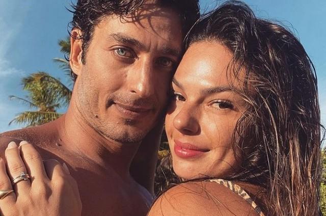 André Resende e Isis Valverde (Foto: Reprodução)