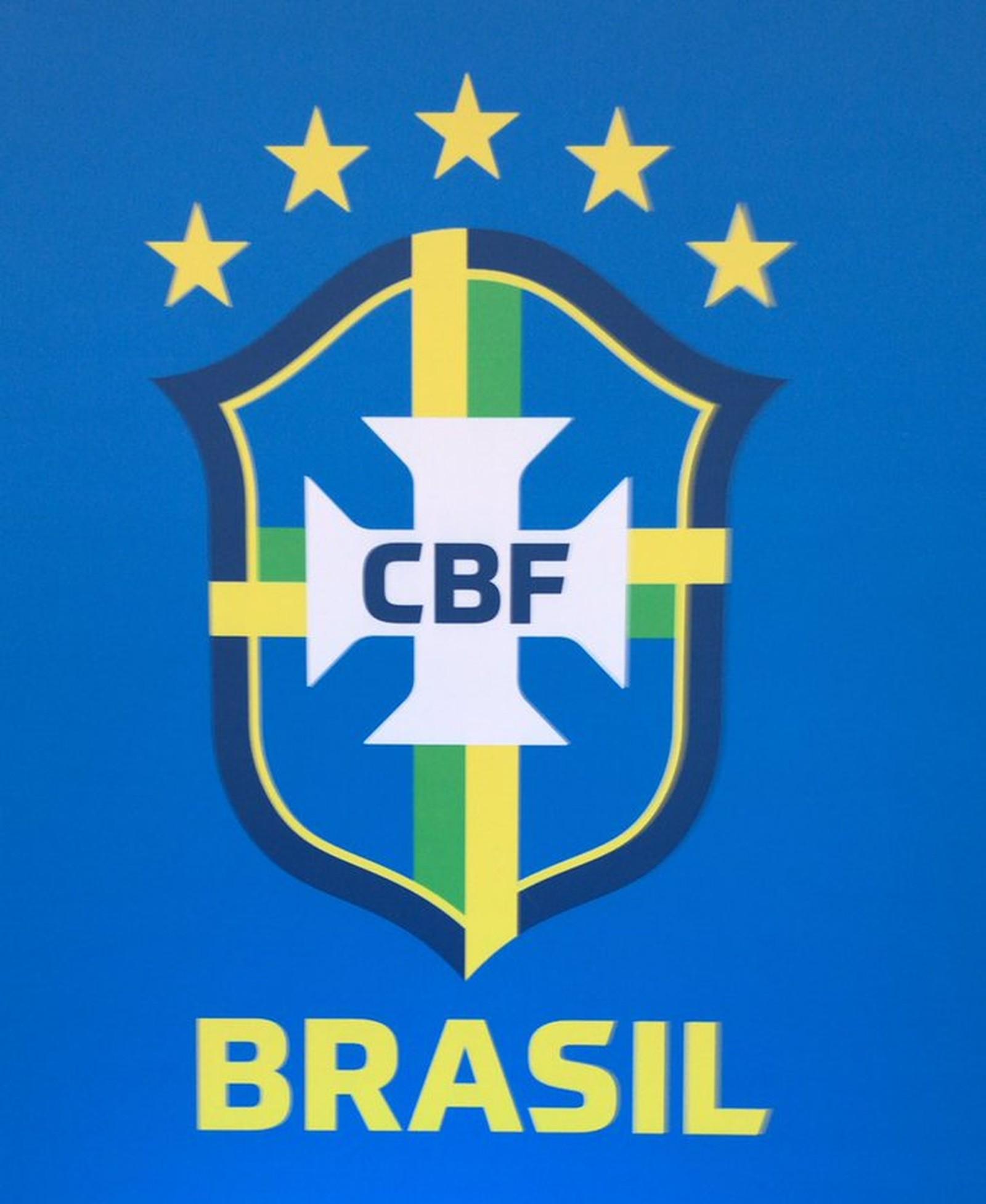 O novo escudo da CBF (Foto: Divulgação)