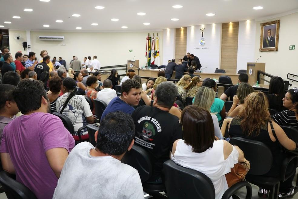 Câmara de São Lourenço (MG) instaurou CPI para investigar fraudes em contratos (Foto: Câmara Municipal )