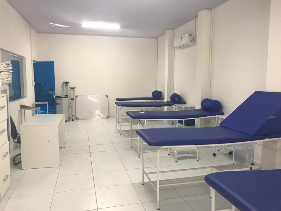 Novo departamento de fisiologia do CSA — Foto: Augusto Oliveira/ASCOM CSA