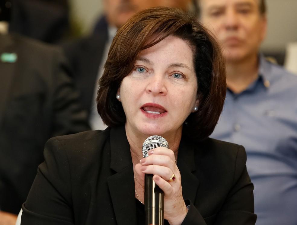A procuradora-geral da República, Raquel Dodge — Foto: Isac Nóbrega/Presidência da República