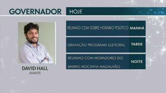 Confira a agenda dos candidatos ao Governo do Acre em 28 de agosto