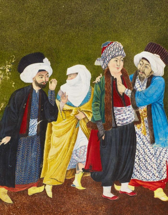 """Ilustração do livro """"A Shaykh remembers his youth"""" (Foto: Reprodução)"""