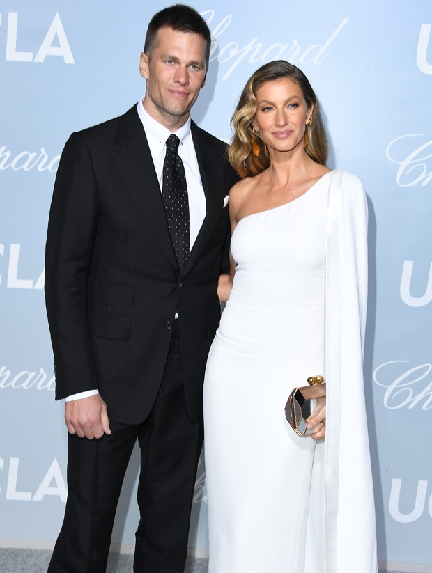 Gisele Bündchen e Tom Brady (Foto: Getty Images)