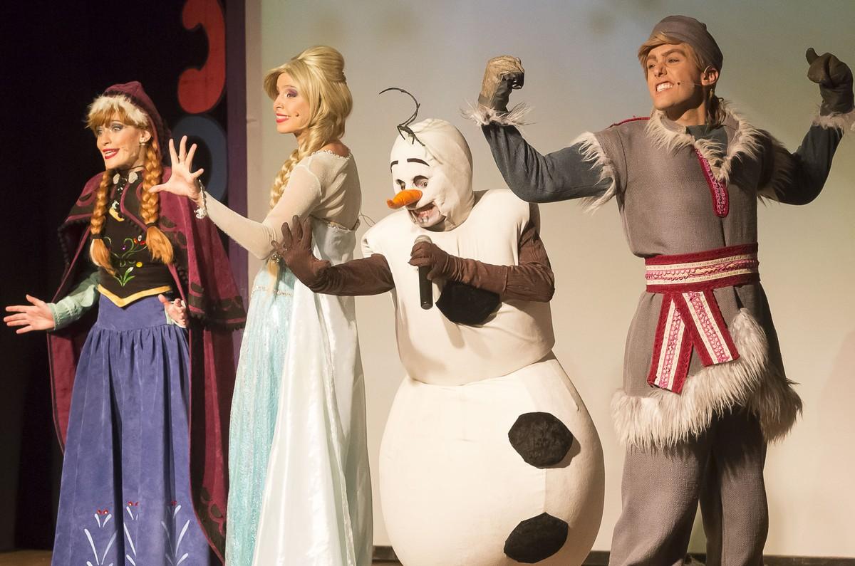 Peça 'Rainha da Neve' é encenada neste sábado em Resende - G1