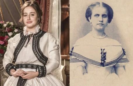 Bruna Griphao será Princesa Leopoldina, a outra filha do casal Globo e reprodução