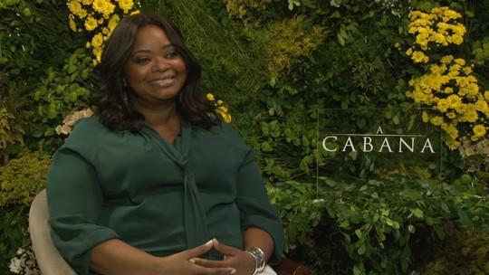 'A Cabana' oferece esperança numa época desesperançosa, diz Octavia Spencer