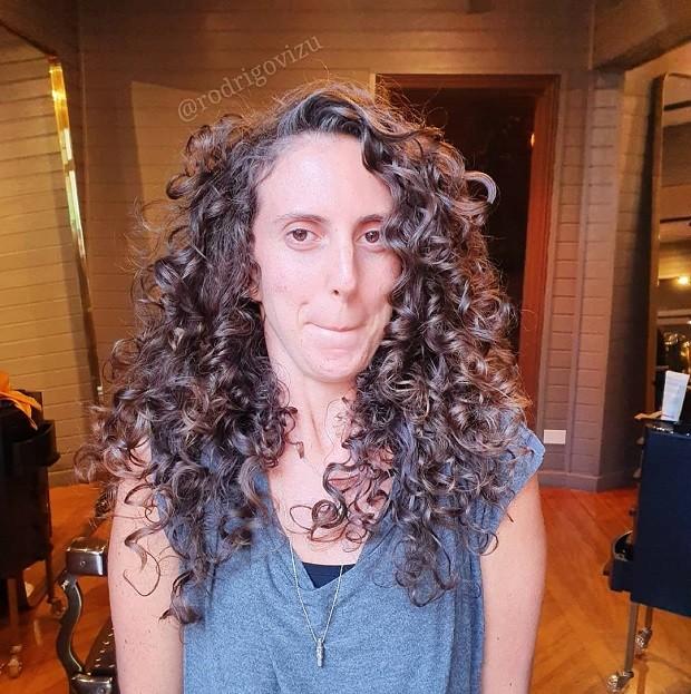 Corte de cabelo de Rodrigo Araújo, do Vizu Hair Club (Foto: Reprodução)