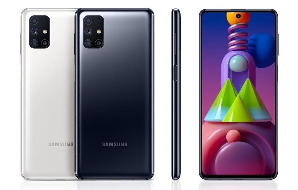 Galaxy M51 é anunciado com bateria de 7.000 mAh — Foto: Divulgação/Samsung