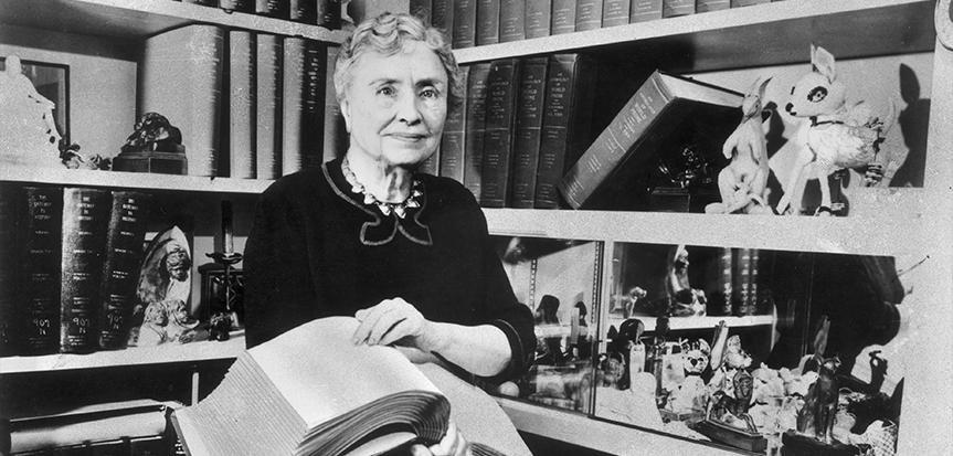 A norte-americana Helen Keller  (Foto: Divulgação)