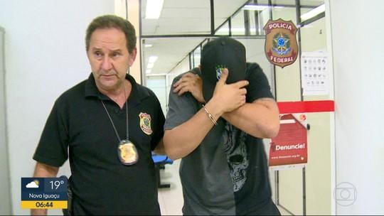 Polícia Federal prende no RJ homem considerado o maior assaltante de cargas dos Correios do país