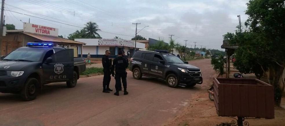 -  Polícia deflagrou operação para prender quadrilha que teria furtado cooperativa de crédito em Novo Mundo  Foto: Polícia Civil de MT/Divulgação
