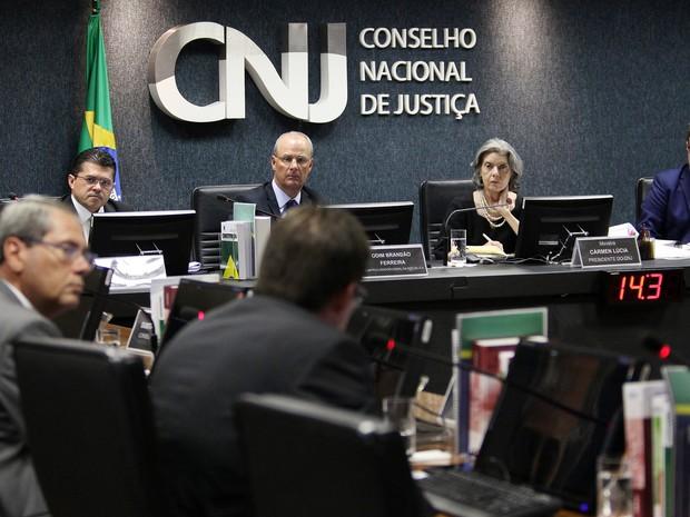 CNJ aplicou pena de disponibilidade à magistrada paraense Clarice Maria de Andrade (Foto: Divulgação / CNJ)