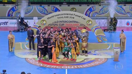 Sorocaba conquista título mundial de futsal