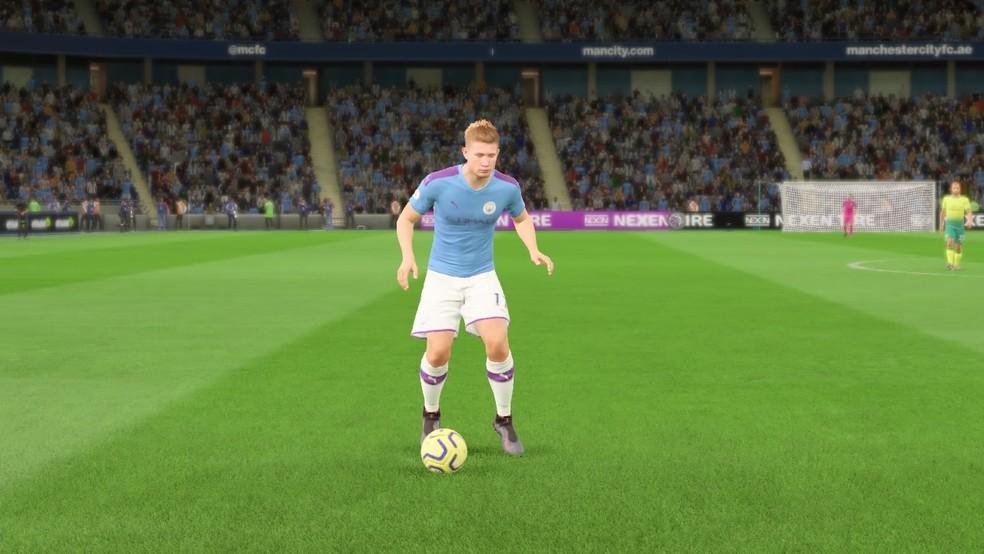 De Bruyne é o melhor meia do FIFA 20 — Foto: Reprodução/EA Sports