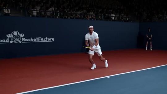 Rafael Nadal enfrenta Mario em comercial de Mario Tennis Aces
