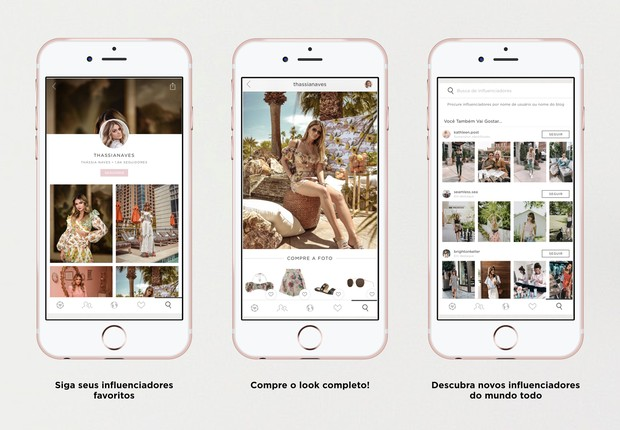 Aplicativo Like To Know It permite que você possa comprar as roupas que vê no instagram (Foto: Divulgação rewardStyles)