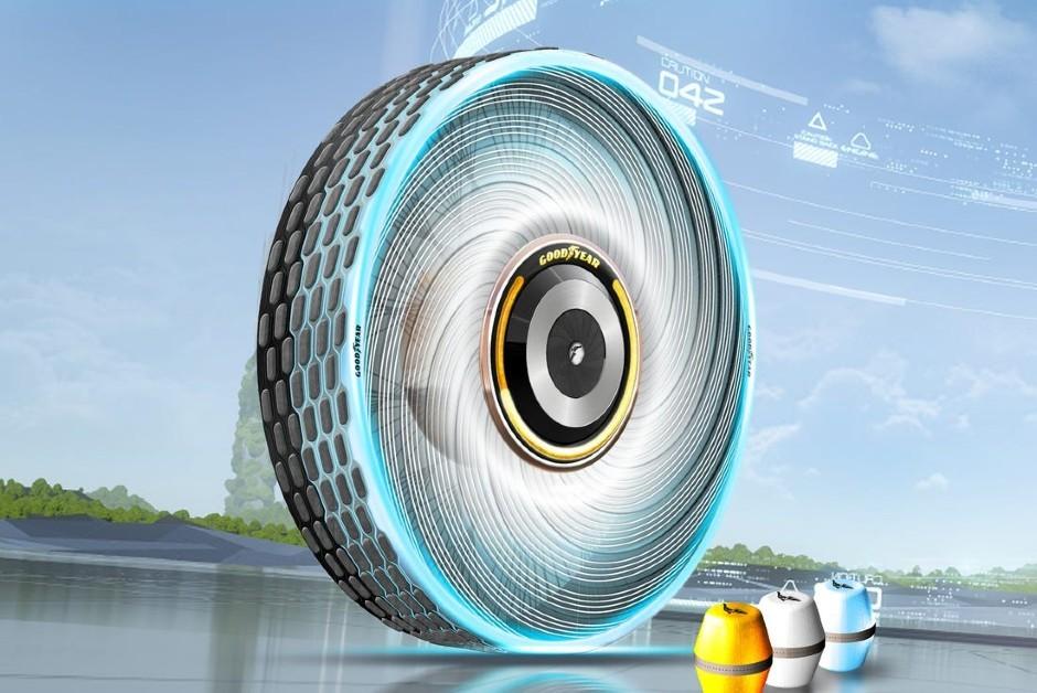 Goodyear revelou um novo conceito de pneu (Foto: Divulgação)