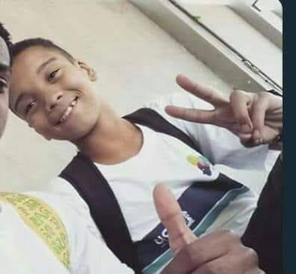 Marcos Vinicius da Silva, de 14 anos, morreu após ser baleado na Maré (Foto: Reprodução)