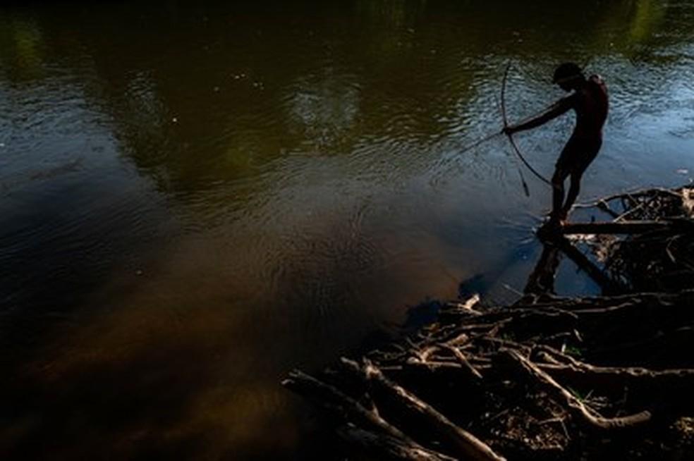 Nova normativa prejudicaria índios que vivem em terras não homologadas — Foto: Márcio Pimenta