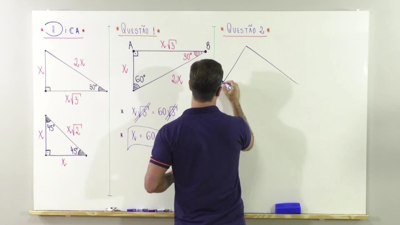 De boa no Enem: videoaula sobre trigonometria