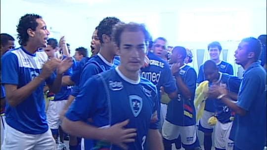 15 anos do Osvaldo Cruz: Cenedesi volta ao Brenão e diz que ainda é lembrado por acessos; veja vídeos