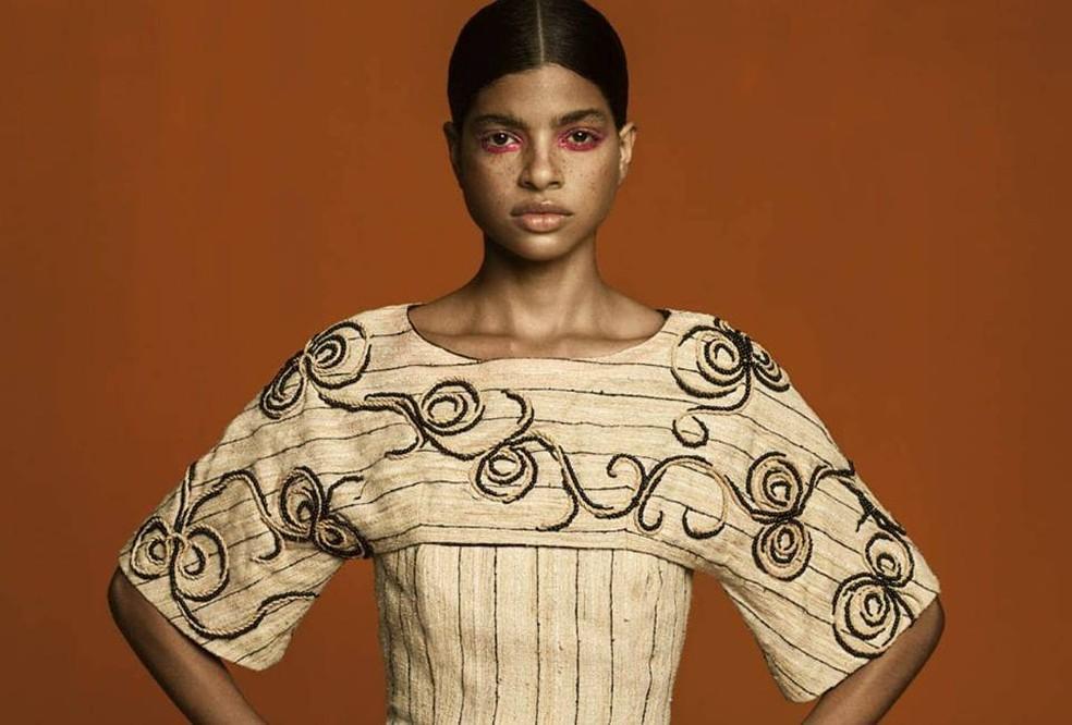 Islane Machado se mudou de Palmas para investir na carreira de modelo (Foto: Adriano Dantas)
