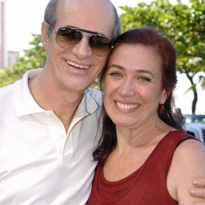 Marcos Caruso e Lilia Cabral (Foto: Reprodução Instagram)