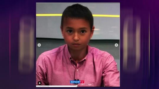 """""""Iti malia""""! Seleção SporTV entra na brincadeira do filtro de criança; veja fotos"""