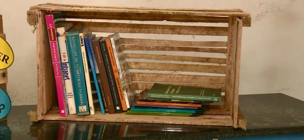 Campanha arrecada livros para o Centro de Detenção Provisória de Limeira — Foto: Reprodução/EPTV